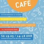 plakat repair cafe Mai